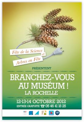 Photo : La Rochelle : fête de la science, branchez vous au Muséum du vend. 12 au dim. 14 octobre 2012 !