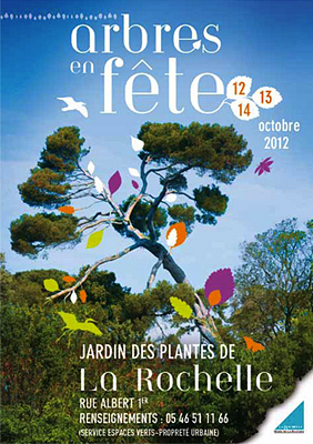 Photo : La Rochelle : Arbres en fête au jardin des plantes du vendredi 12 au dimanche 14 octobre 2012