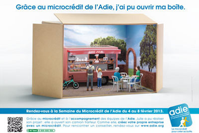 Photo : La Rochelle - Charente-Maritime : Semaine du microcrédit avec l'Adie du 4 au 8 février 2013