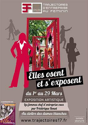 Photo : La Rochelle exposition : Elles osent et s'exposent du 1er au 31 mars 2013