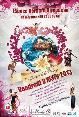 Photo : La Rochelle : l'association la Vie à Mireuil fête la journée de la femme, vendredi 8 mars 2013