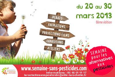 Photo : La Rochelle : une semaine pour une alternative aux pesticides 20-30 mars 2013