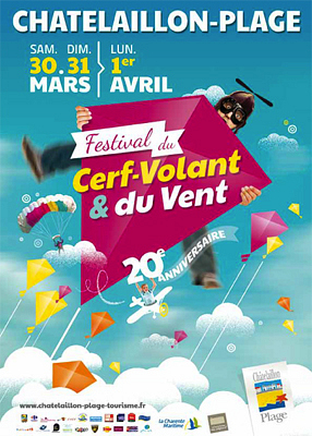 flyers la rochelle sud 20e festival du cerf volant et. Black Bedroom Furniture Sets. Home Design Ideas