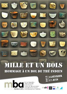 Photo : La Rochelle : Mille et un bols, exposition au musée des Beaux-Arts jusqu'au 17 juin 2013