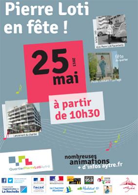 Photo : Agglo de La Rochelle : fête de quartier Pierre Loti - Petite Couture à Aytré sam. 25 mai 2013