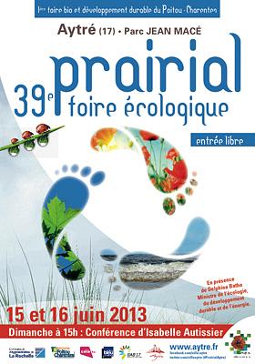 Photo : Agglo La Rochelle - Aytré : Prairial, 39e foire écologique sam. 15 et dim. 16 juin 2013