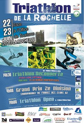 Photo : Triathlon de La Rochelle 2013 entre les deux tours, sam. 22 et dim. 23 juin 2013