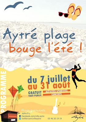 Photo : Agglo de La Rochelle : l'été 2013 à la plage d'Aytré !