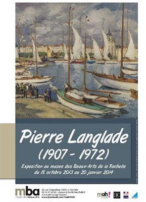 Photo : La Rochelle - exposition : Pierre Langlade au musée des Beaux-Arts jusqu'au 20 janvier 2014