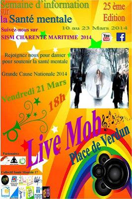 Photo : La Rochelle - Charente-Maritime : 25e semaine d'information sur la santé mentale 10-23 mars 2014