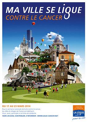 Photo : La Charente-Maritime se ligue contre le cancer à partir du 13 mars 2014 !