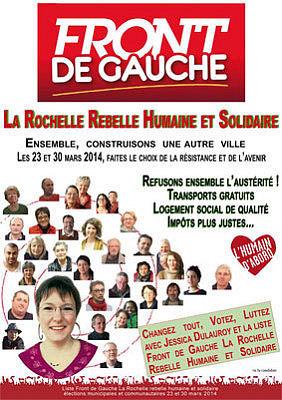 Photo : Jessica Dulauroy, Front de Gauche