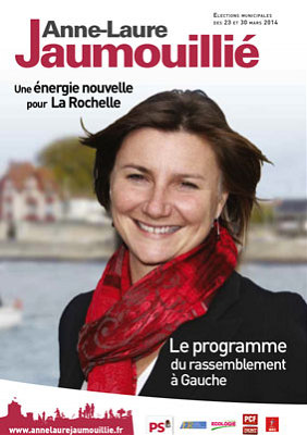 Photo : Anne-Laure Jaumouillié, PS et partenaires de gauche
