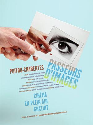 Photo : La Rochelle, Sainte-Soulle, Angoulins: cinéma en plein air avec les Passeurs d'images, été 2014