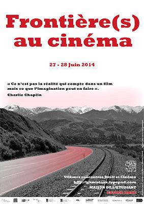 Photo : La Rochelle : les frontière(s) aux VIIe rencontres droit et cinéma, vend. 27 et sam. 28 juin 2014