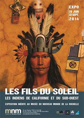 Photo : La Rochelle : Les Fils du soleil, exposition au musée du Nouveau-Monde jusqu'au 22 sept. 2014