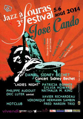 Photo : Charente-Maritime - Fouras : 3e Festival de jazz José Cando, mardi 5 et mercredi 6 août 2014