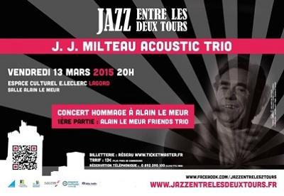 Photo : Jazz à La Rochelle Lagord : concert-hommage à Alain Le Meur avec JJ Milteau, vendredi 13 mars 2015