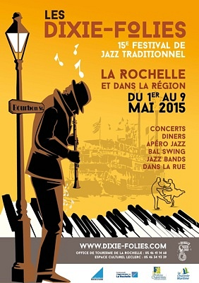 Photo : La Rochelle Agglo, Ré et Oléron : Dixie-Folies, festival de jazz traditionnel jusqu'au 9 mai 2015