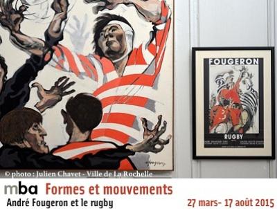 Photo : Musée des Beaux-Arts de La Rochelle : André Fougeron et le rugby jusqu'au 17 août 2015