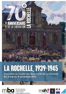 Photo : La Rochelle 1939-1945 : exposition au musée des Beaux-Arts jusqu'au 9 novembre 2015