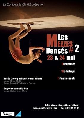 Photo : Danse à La Rochelle : 2e Mezzes dansés présentés par Chriki'z, sam. 23 et dim. 24 mai 2015