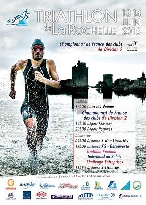 Photo : Triathlon La Rochelle : rendez-vous côté vieux port, samedi 13 et dimanche 14 juin 2015