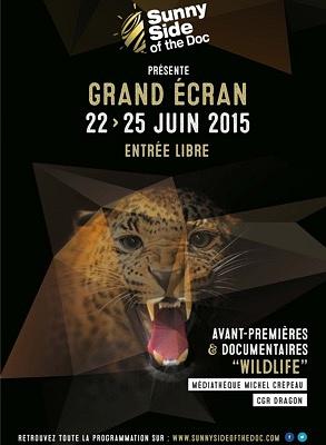 Photo : Grand Écran Documentaire à La Rochelle : avant-premières et documentaires wildlife, 22-25 juin 2015