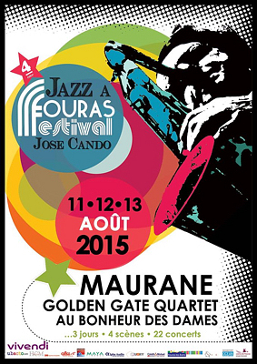 Photo : Charente-Maritime : 4e festival de jazz José Cando à Fouras-les-Bains les 11, 12 et 13 août 2015