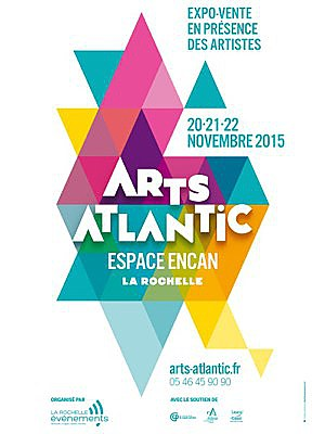 Photo : Arts Atlantic : 9e biennale d'art contemporain à La Rochelle les 20, 21 et 22 novembre 2015