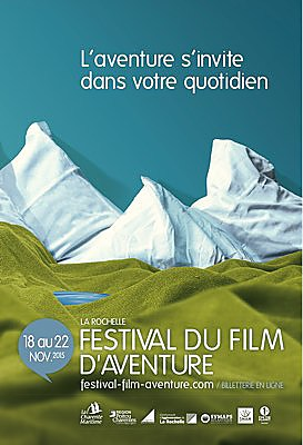 Photo : Festival du film d'aventure de La Rochelle 2015 : programme synthétique.