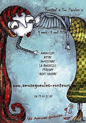 Photo : La Rochelle Agglo : festival Sur Paroles, contes et histoires jusqu'au 3 avril 2016