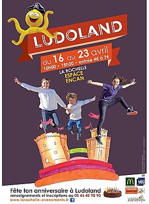 Photo : La Rochelle avec des enfants et en famille : Ludoland ouvre ses portes à l'Encan 16-23 avril 2016