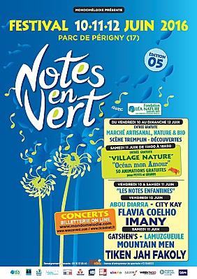 Photo : La Rochelle Agglo : festival Notes en Vert, musiques métissées à Périgny 10 au 12 juin 2016