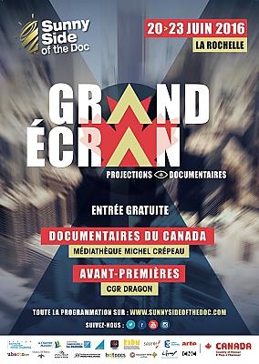 Photo : Sunny Side La Rochelle sur Grand Écran : avant-premières et documentaires du Canada, 20-23 juin 2016