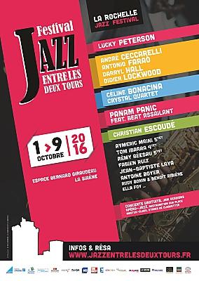 Photo : Festival à La Rochelle : Jazz Entre les Deux Tours, à l'affiche du 1er au 9 octobre 2016 !