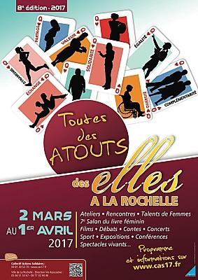 Photo : Des Elles à La Rochelle : débats, échanges, art, littérature... du 2 mars au 1er avril 2017