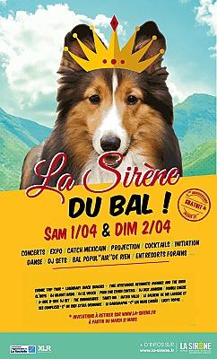 Photo : Bals à La Rochelle : La Sirène fête son 6ème anniversaire samedi 1er et dimanche 2 avril 2017 !