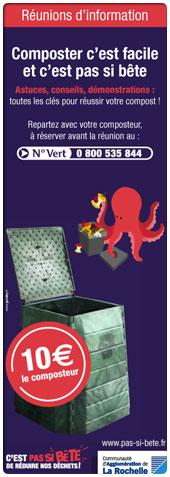 R�unions : Composter c'est facile et c'est pas si b�te...
