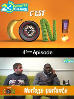 2 minutes 2 share : C'est con!, � voir et revoir...