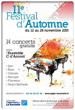 11�me Festival d'Automne du 12 au 28 novembre 2015...