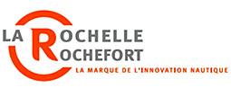 logo La Rochelle Rochefort, la marque de l'innovation nautique